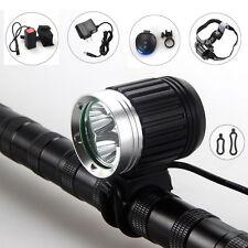 9000Lm 3x CREE XML U2 LED Bicicletta luce della lampada della bici faro del faro