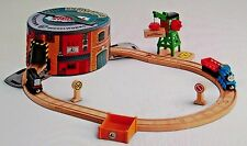 Thomas & Friends Wooden Railway Working Hard Steamies And Diesels Set w /dvd