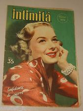 INTIMITA rivista 19 LUGLIO 1951 n. 282 = DIANA LYNN cover magazine =