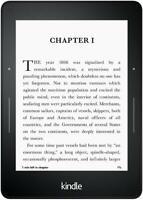 Amazon Kindle Voyage - 7th Gen - Wi-Fi + 3G - 4GB - Black - Tablet / E-Reader