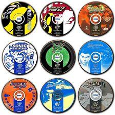 Dreamcast Games - Disc Art - Coasters - Wooden - PAL - Sega Dreamcast - 4 For 3