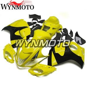 for Suzuki GSXR1300 2008 2016 Fairings Hayabusa 08 16 Bodywork Yellow Black Hull