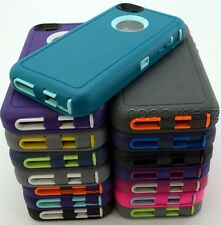 Defender Case for Apple iPhone 5C with Belt Clip & Screen Protector