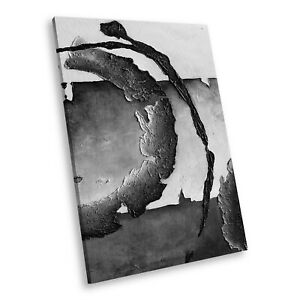 AB1034 Modern Black White Abstract Portrait Canvas Picture Prints Small Wall Art