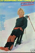 Publicité advertising 1981 Les Vetements de ski pour enfants Absorba