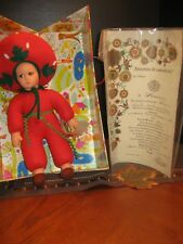 "Lenci Doll-Bambola ""Fragola"" Orig Box-Coa Is Handpainted All Papers-Htf Rare"