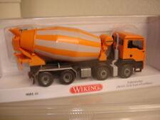 Wiking: MAN TGS Euro 6/Liebherr Fahrmischer,  orange (068148), super !!!