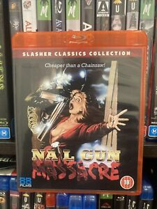 Nail Gun Massacre Bluray Slasher Classics Collection 7 88 Films