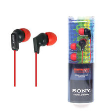 Sony MDR-EX35LP Red/Red powerful sound EX Style Headphones MDREX35LP