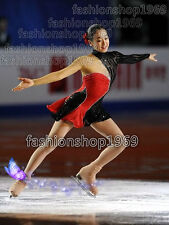 Ice Figure Skating Dress Baton Twirling Dress Custom Gilr Competition xx276