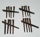 Vintage 20 Square Cut  2 1/2 Inch Straight Nails w/Square Heads