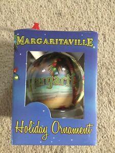 MARGARITAVILLE- HOLIDAY ORNAMENT- JIMMY BUFFETT- 2011- NEW-