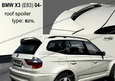 SPOILER REAR ROOF BMW X3 E83 WING ACCESSORIES