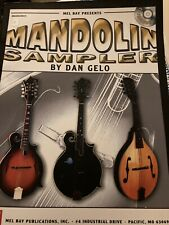 New listing Mandolin Sampler by Dan Gelo Book/Cd (Mel Bay) New!