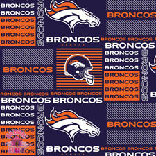 Denver Broncos NFL 100% Cotton Fabric 6422 D