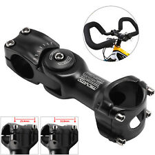 Adjustable Bicycle Handlebar Stem Aluminum Alloy Road Bike Ha 25.4/31.8mm UK