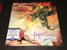 Yngwie Malmsteen Signed Trilogy Vinyl Album Rock Superstar Beckett