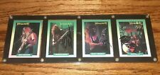 DAVE MUSTAINE Megadeth Signed AUTOGRAPHED CARDS RUST IN PEACE ERA ALL 4 MEMBERS