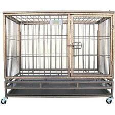 Go Pet Club Sq1038 38 in. Heavy Duty Steel Crate