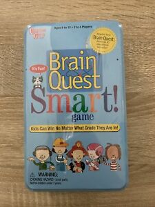 Brain Quest Smart! Game Science Math Arts Reading The World Educational - NEW