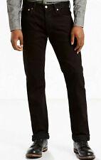 Levis 501 Original Button Fly Black Jeans sizes 28,29,30,31,32,33,34,36,38 (B265