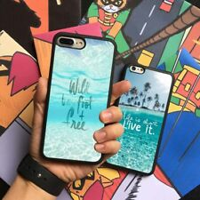 Beach Sea Maxim Motto Silicone Phone Case Cover For iPhone Samsung Galaxy