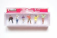 HO 1/87 scale Noch 18132 SIX SEATED FIGURES : Summer Clothes