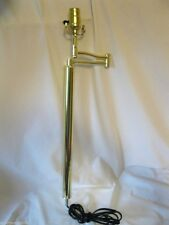 NEW Brass Swing Arm Lamp Unit Replacement Part OR Make Your Own Lamp
