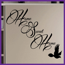 Vinyl Wall Art - Home Sweet Home  - Decoration, sticker, love, decal, transfer