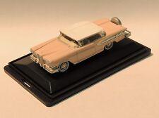 1958 EDSEL CITATION - HO SCALE - OXFORD DIECAST #ED58003 - ROSE/WHITE