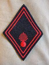 Losange de bras Infanterie troupe NEUF modèle 45 insigne écusson Armée Française