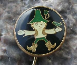 Vintage Rumcajs Son Cipisek Czech Cartoon Character Vecernicek Pin Badge