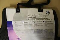 Rear rubber mats VW Passat B6 / B7 & CC 3C0061512 82V New genuine VW part