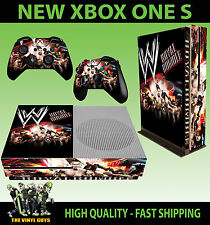 XBOX ONE S SLIM CONSOLE ADESIVO WWE ROYAL RUMBLE WRESTLING WWF aderente &
