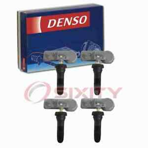 4 pc Denso Tire Pressure Monitoring System Sensors for 2014-2016 Chevrolet qy