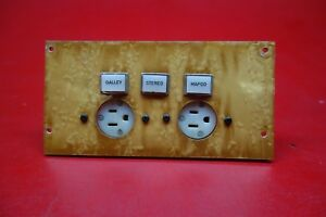 Beechcraft Hawker 400XP Control Panel PN 45A70370-3
