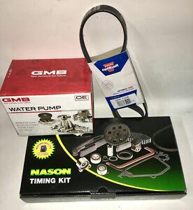 Timing Belt Kit, GMB Water Pump & Belt fits Holden & Toyota 3S-FC, 3SFE, 5SFE en