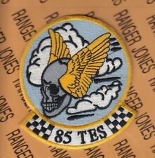 "USAF Air Force 85th Test & Evaluation Squadron TES 3.75"" patch"
