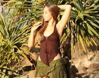 Rave Boho Top, Tribal Festival Fairy, Gypsy Goa Psytrance Burning Man Rave