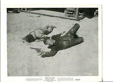 Richard Egan Tension At Table Rock Original Western Movie Press Still Photo