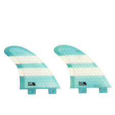 SEA K-XLR8 Quad Surfboard fins compatible with FCS plugs NEW