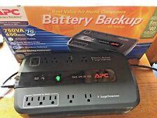 APC UPS: 750VA  120V BE750G Battery Backup Surge Protector