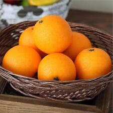 Lifelike Artifical Imitation Orange Plastic Fake Fruit Mould Props Home Decor