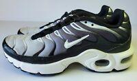 Kids Nike Air Max Plus (GS) 655020-077 Black/White Size 4Y