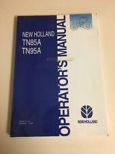 New Holland Tn85a Tn95a Tractor Operators Manual Part 87364947 2005