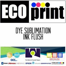 ECOPrint Dye Sublimation Ink FLUSH (1 liter) Made In USA Free Shipping