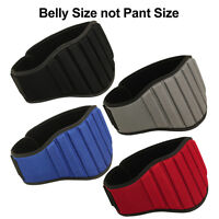 "Weight Lifting Belt 8"" Wide Gym Lumber Back Support Belts Workout Men Women MRX"