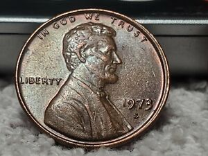 1973 S Lincoln Cent w/ Double die obverse and reverse..