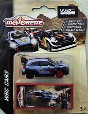 Majorette WRC Hyundai i20 Coupe light Blue color Metal Limited edition