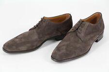 HUGO BOSS Business-Schuhe, Gr. 45 / UK 11 / US 12, Made in Italy, Dark Brown